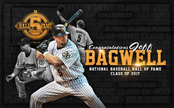 HALL OF FAME BOUND!  #BagwellHOF https://t.co/DSpDMEyF5l