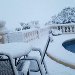 Shock for British holidaymakers as freak BLIZZARDS hit Majorca and Benidorm with snowstorms sweeping across the Med