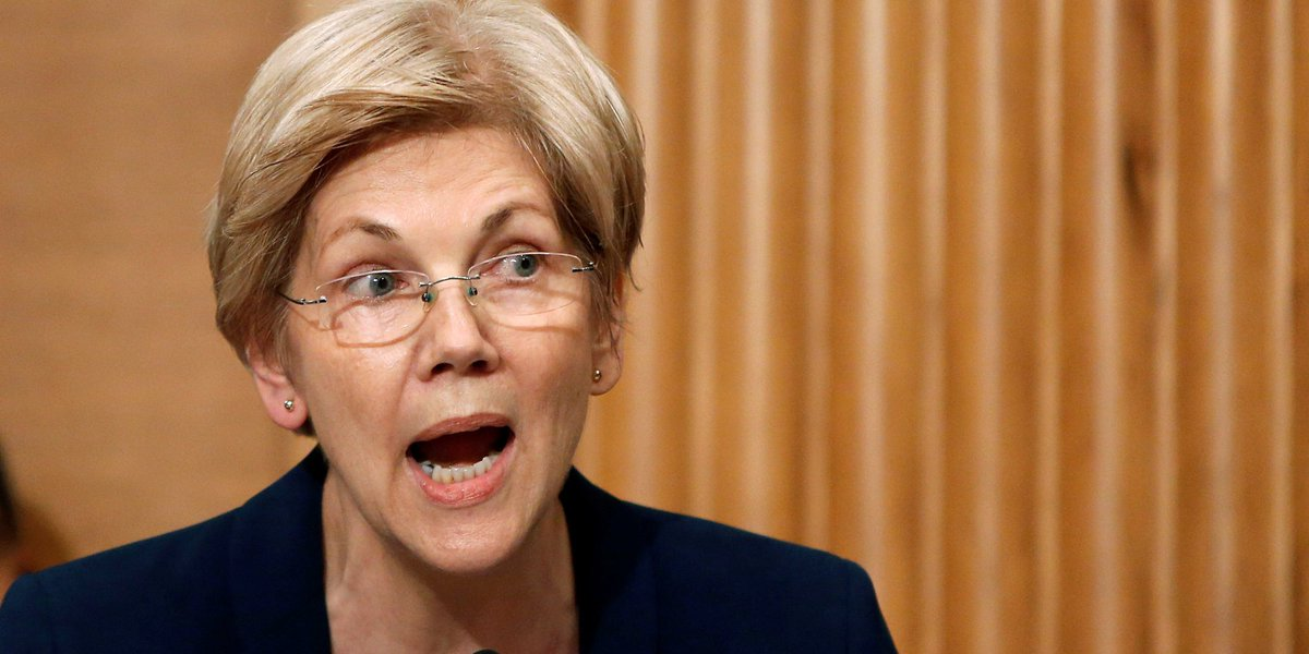 Elizabeth Warren and foreclosure victims blast Trump's Treasury pick