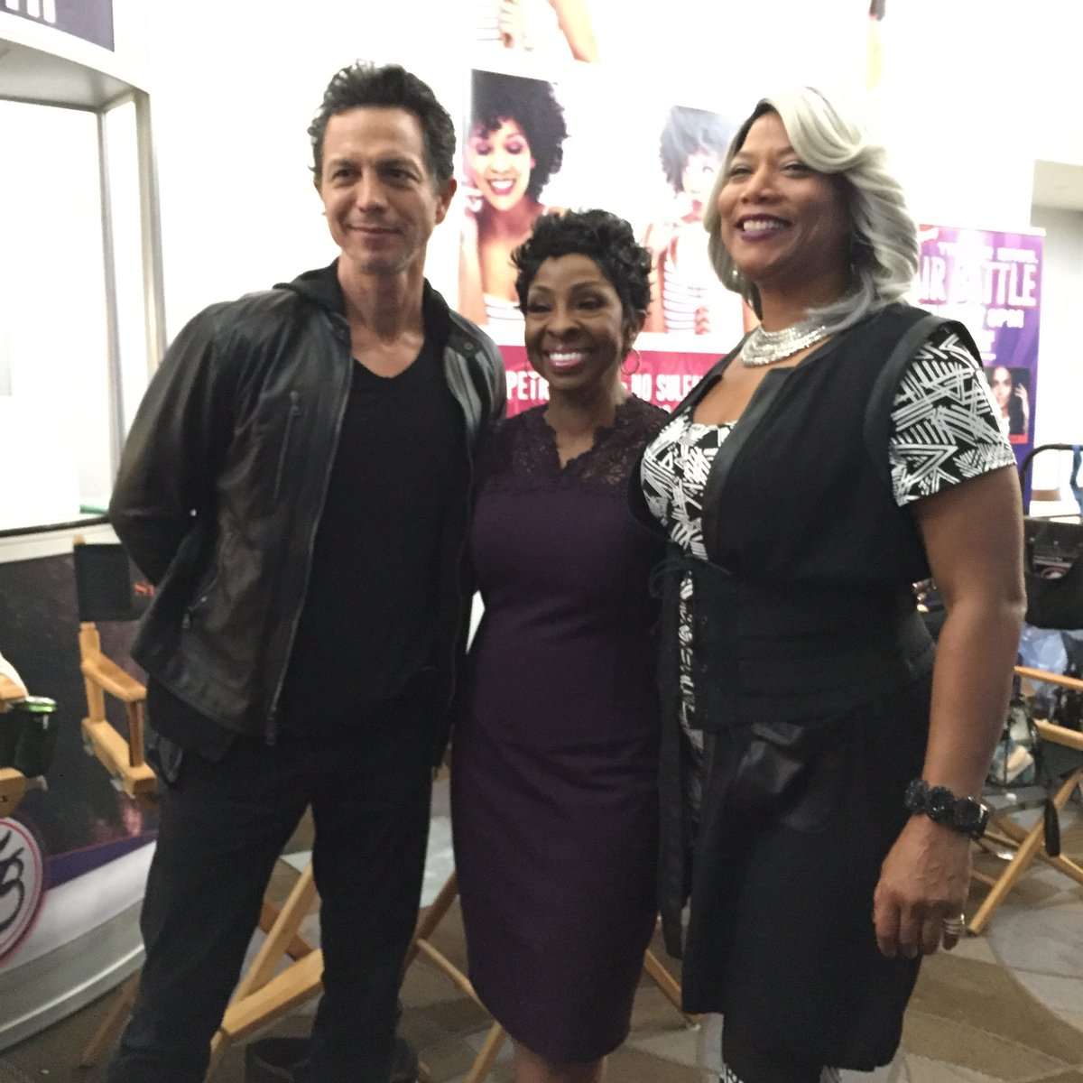 Loved having the amazing @MsGladysKnight on set with us for this episode! #STAR https://t.co/du2RMLDdW1