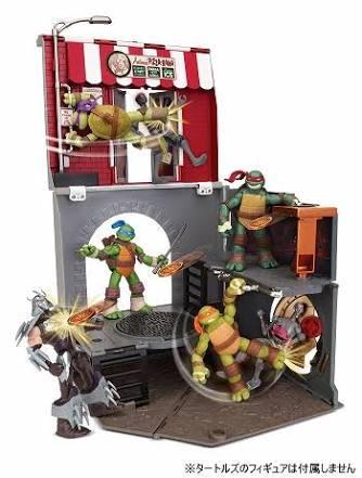【基地玩具】ミュータントタートルズのオモチャが・・・・・