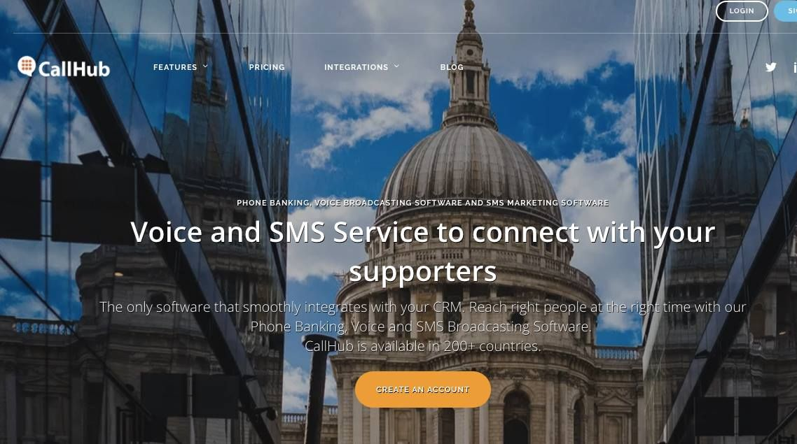 CallHub : Voice and SMS platform for political campaigns https://t.co/CifxPa4wsl