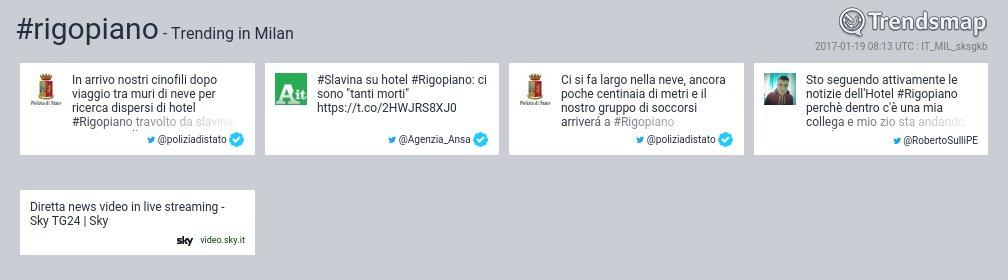 #Rigopiano