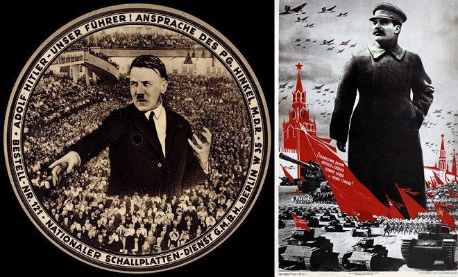 巨大化するのは独裁者の定番スタイル。ヒトラーもスターリンも巨大化する。それがゴジラ系か、ウルトラマン系かは神のみぞ知る。