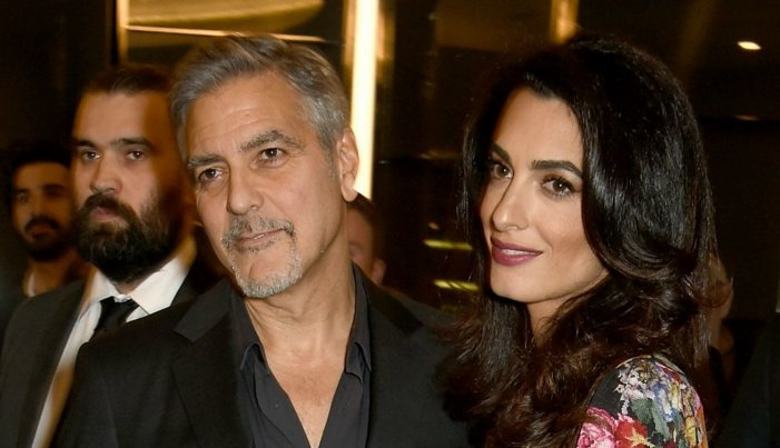 Are George Clooney and his wife  Amal expecting a