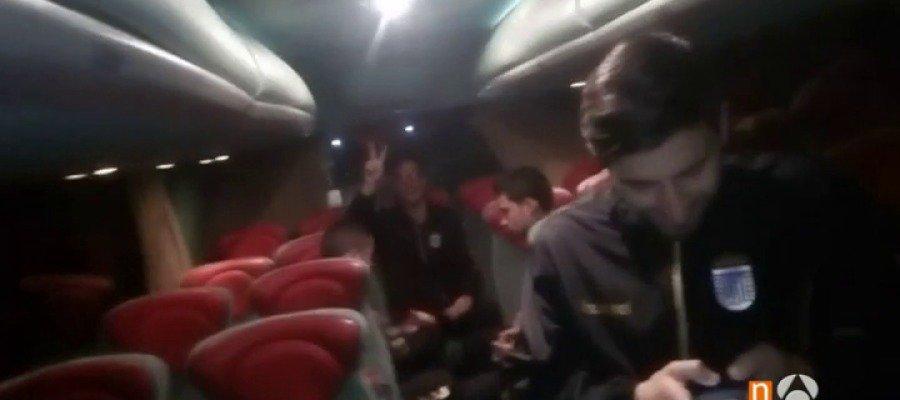 Odisea del Badajoz en la nieve de Murcia el autobús se queda atrapado 24 horas ►