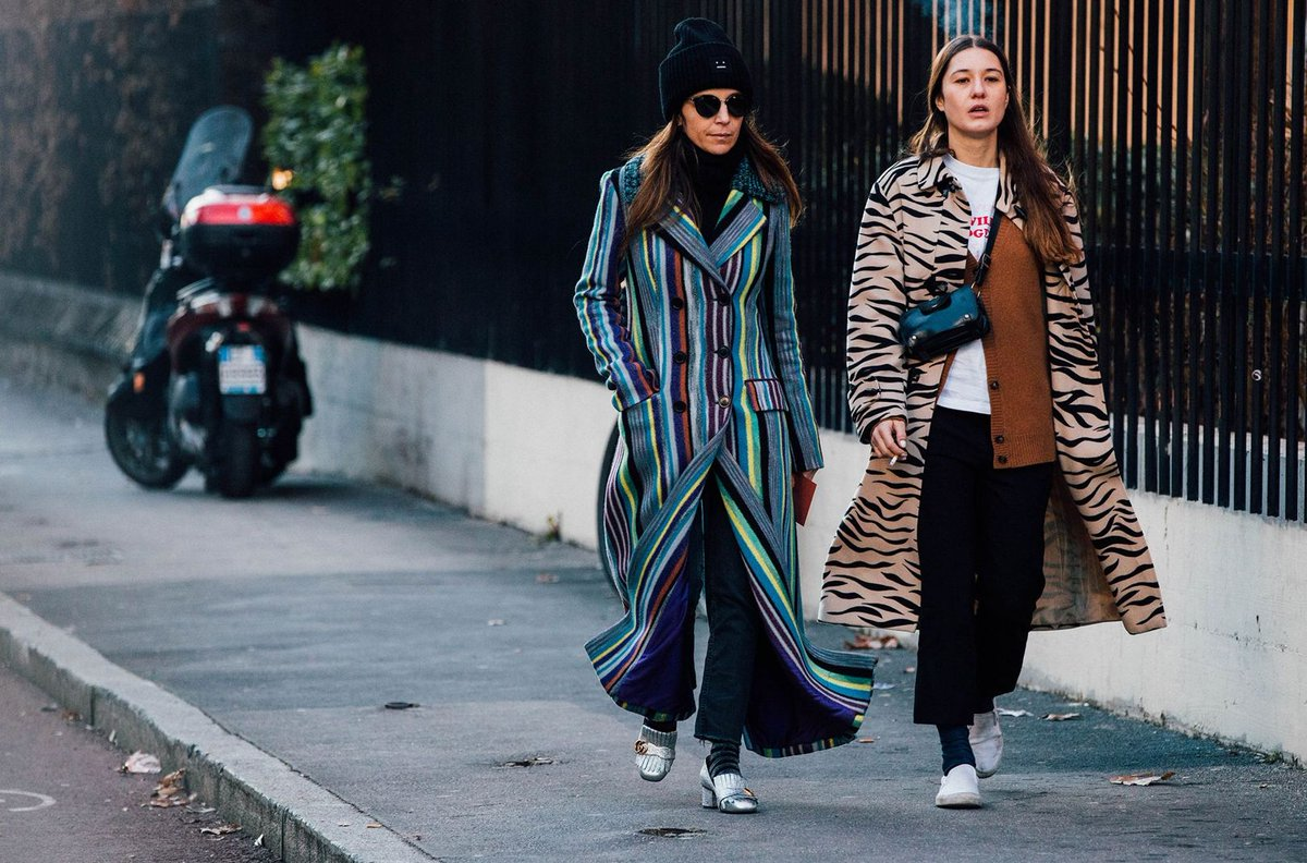 From Corduroy Flares To Tiger Print Vogue Edits The Best Street