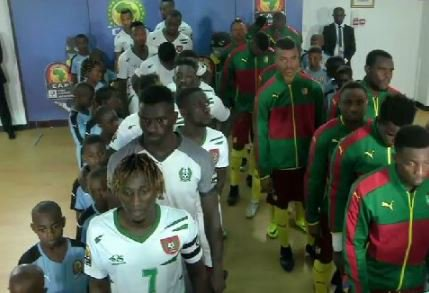 Cameroon come from behind to beat Guinea-Bissau