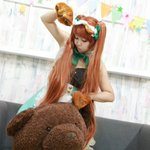 今年初コス💕むちむち…(笑)ユリ熊嵐 百合ヶ咲るるphoto♡しやうさちゃん#コスプレイヤーさんと繋がりたい#RTでお迎