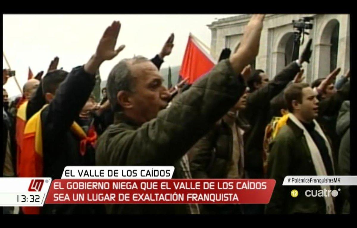 El Gobierno niega que el Valle de los Caídos sea un lugar de exaltación franquista. #PolémicaFranquistasM4