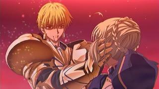 これや…Fate/stay nightのfate√見てない人ぜひみてください…ギル最高にかっこいいから