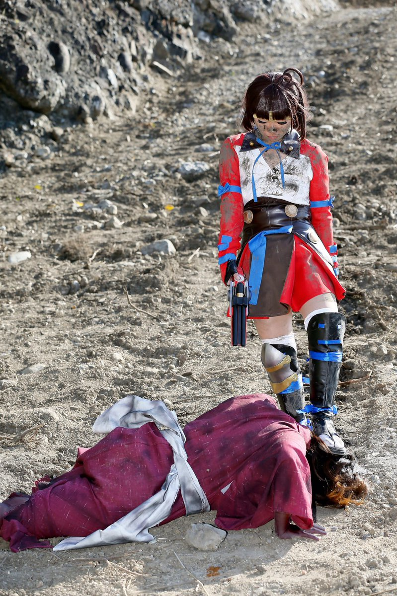 【コスプレ】甲鉄城のカバネリ無名:ゆうなカバネ:LA( )photo:ケーゴさん( )#コスナビ