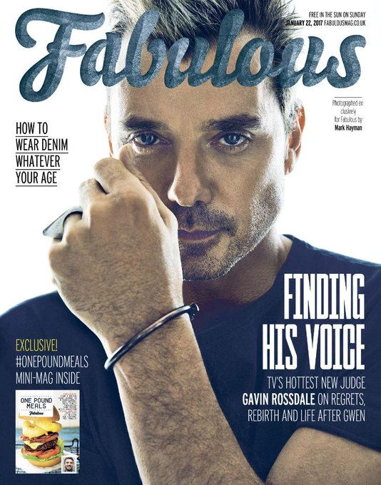REVEALED: The rather tall, dark and handsome @GavinRossdale is our new cover star 😍 https://t.co/LeUIlRY7ua