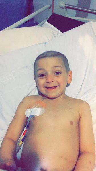 Bradley Lowery has started his pioneering cancer treatment @Bradleysfight #bradleylowery  https://t.co/DvhCZSXrCm https://t.co/v4p5pwdjNo
