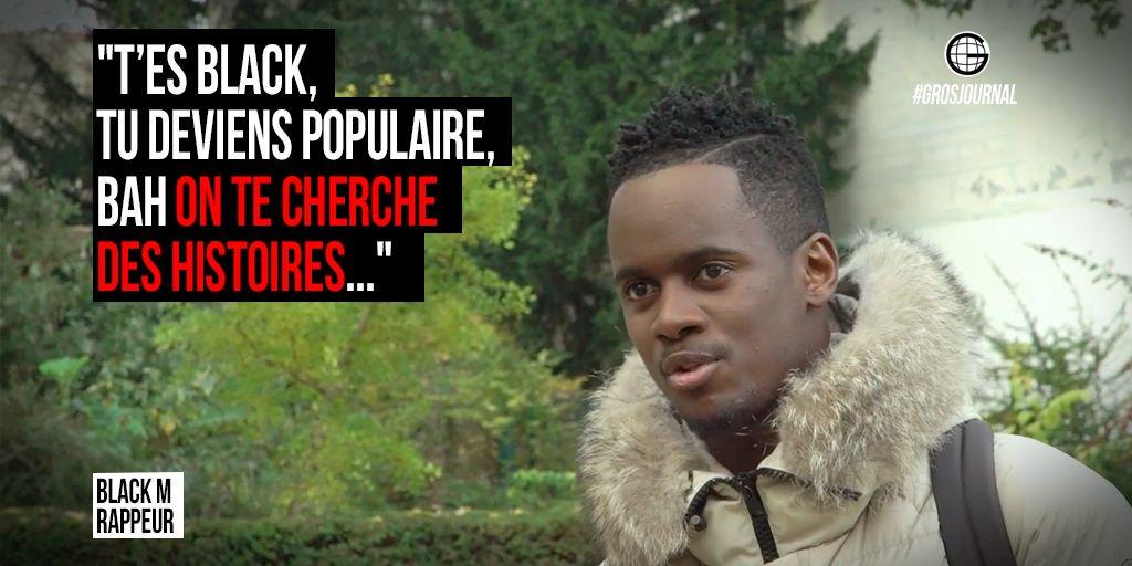 'T'es black, tu deviens populaire, bah on te cherche des histoires'- @Bmesrimes au #GrosJournal https://t.co/ukon19t2bH