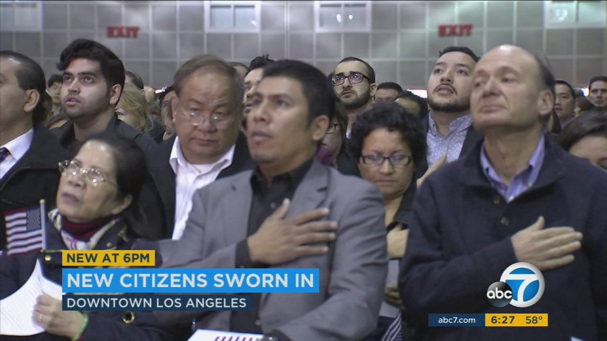 5,000 sworn-in as US citizens in LA before Trump inauguration