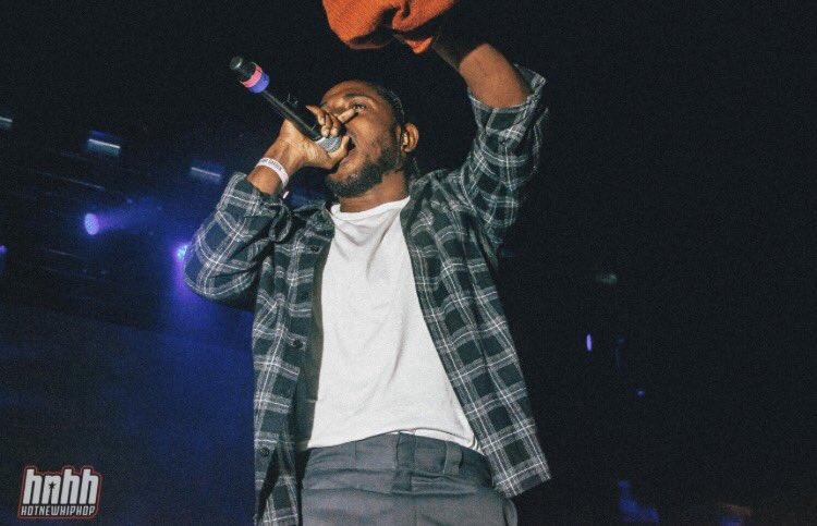 RT @KendrickDirect: Kendrick Lamar at Yams Day https://t.co/U6cTpiIiDS