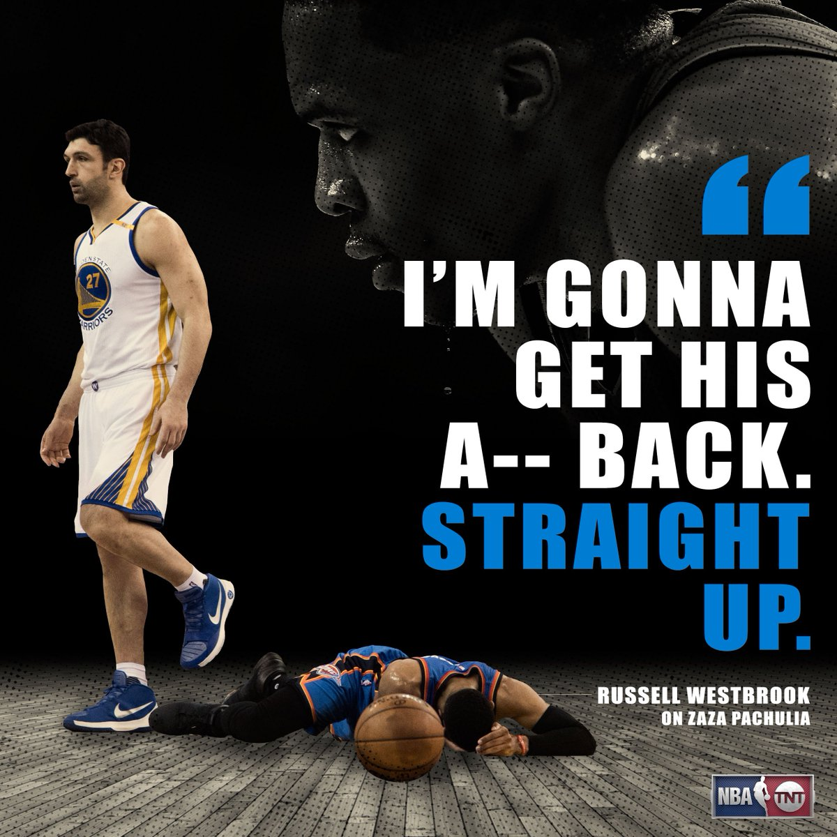 Warriors head to Russ' house on February 11.Mark your calendars.