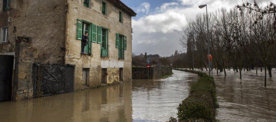 Hallado en el río Arga el cadáver de la mujer asesinada por su pareja en Pamplona