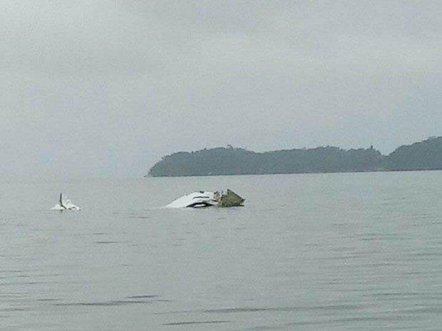 Avião cai no mar em Paraty, no Rio https://t.co/mSQ1mDQrU0 #G1