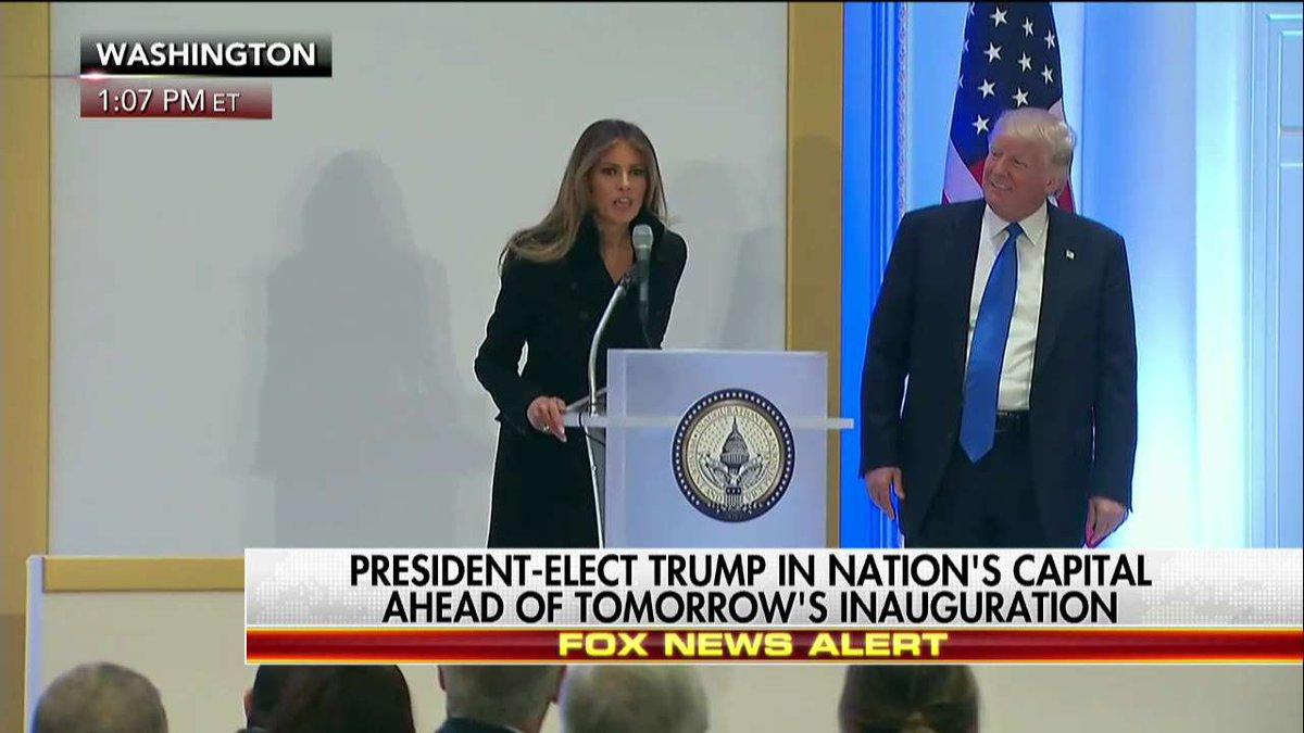 """.@MELANIATRUMP """"We will make America great again."""""""
