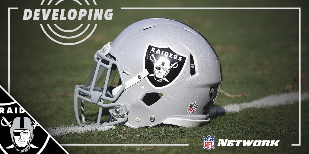 NEWS ALERT Raiders file paperwork to relocate to Las Vegas; must be approved by three-fourths of team owners.