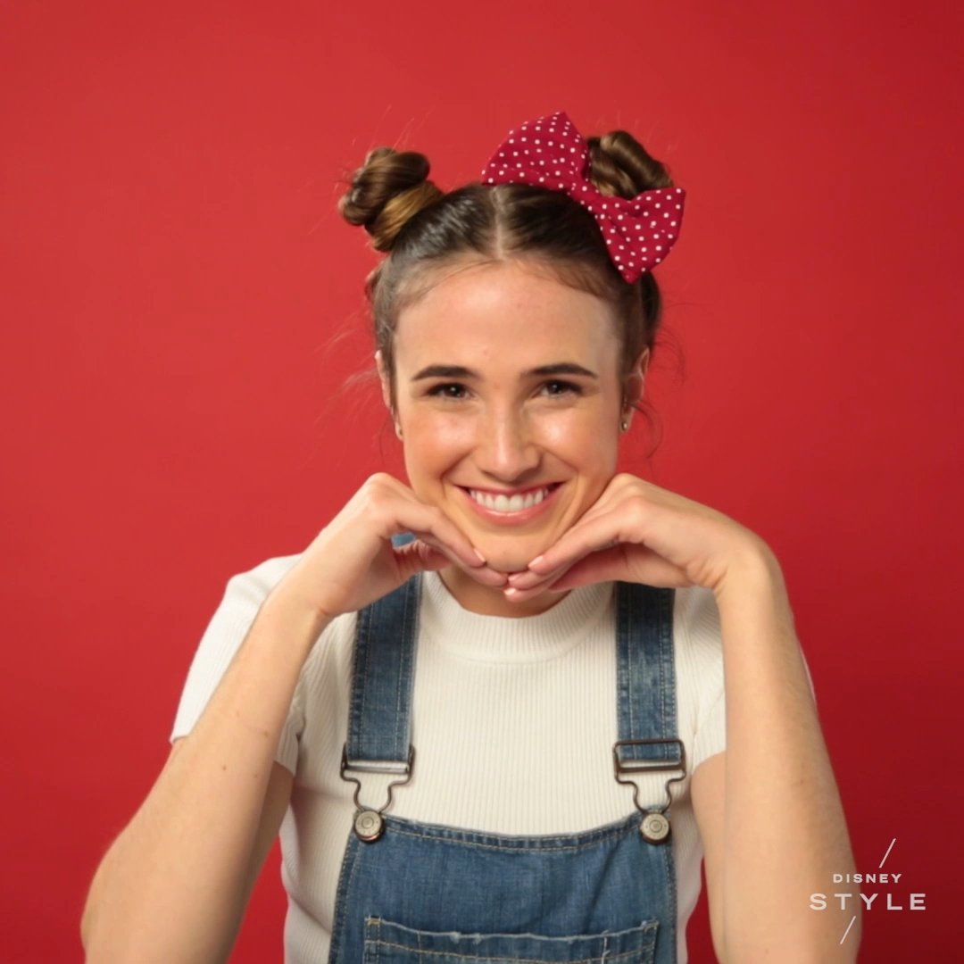 Steal the spotlight with @DisneyStyle's fun bun tutorial inspired by Minnie Mouse! #RockTheDots