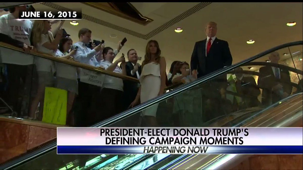 President-elect @realDonaldTrump's defining campaign moments. #TheFive