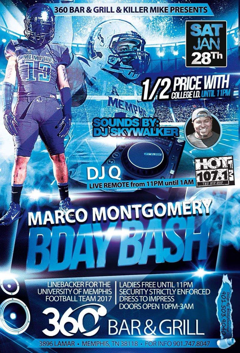 Marco Montgomery BDay Bash! Satu