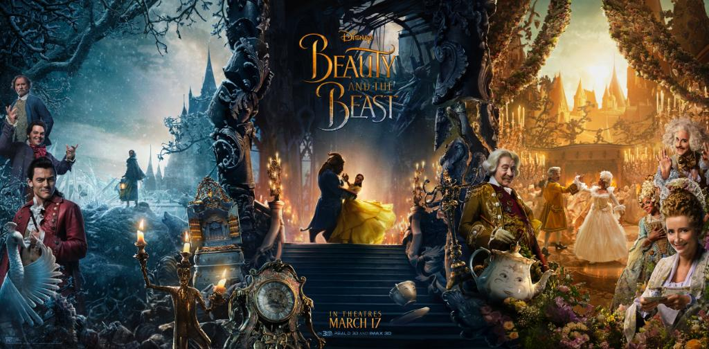 The magic unfolds in this new #BeautyAndTheBeast poster.