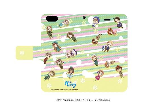 ☆新着☆ 【手帳型スマホケース iPhone 6 / 6S 専用 ヘタリア The World Twinkle 01 E