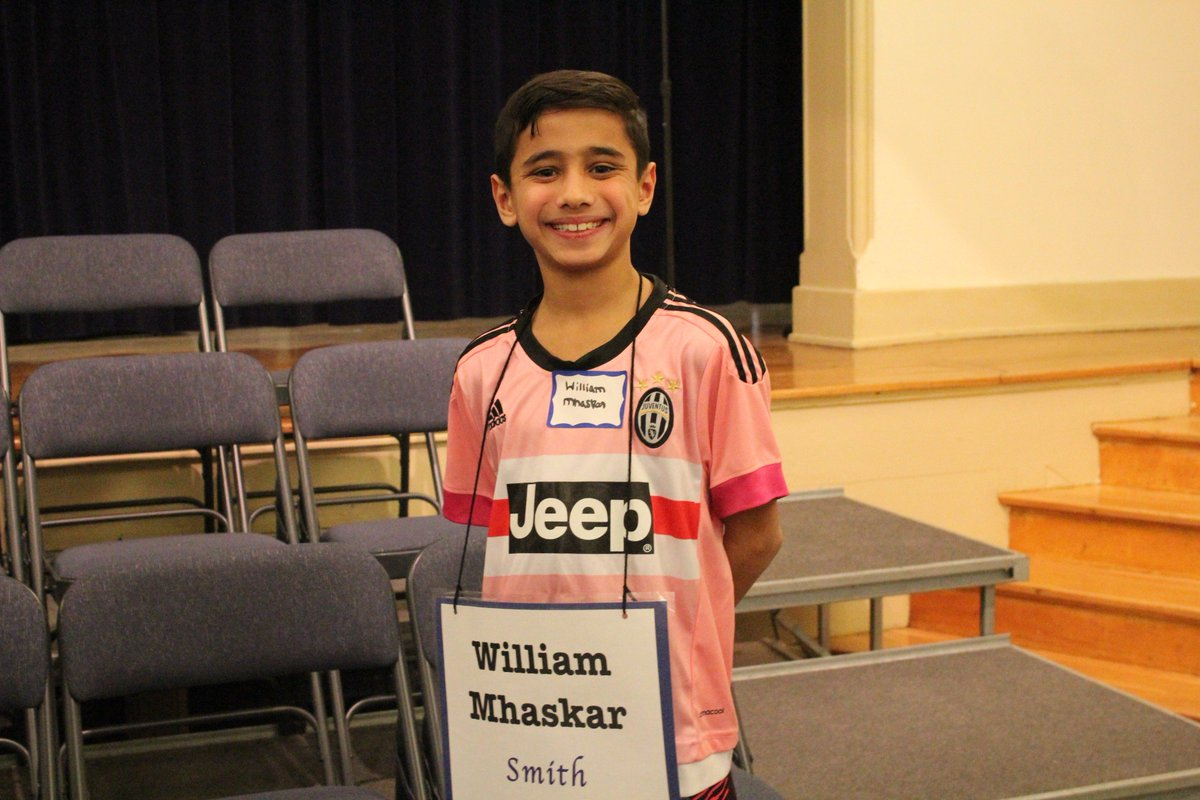 Fifth grader William Mhaskar is the Smith Elementary School Spelling Bee champion! https://t.co/QOKxBIRwMV