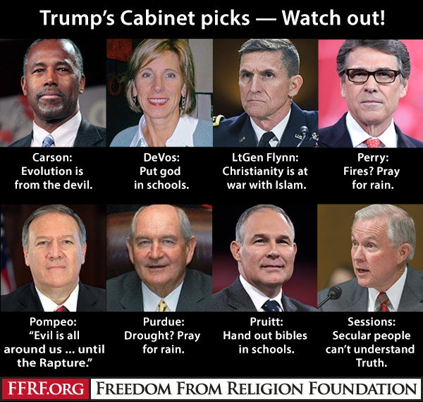 Trump's picks a threat to church/state issues... https://t.co/IIen1HIidd https://t.co/8spNiobpdo