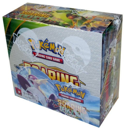 tweet-The new print run of 'Roaring Skies' booster boxes are out! No more $400 Roaring Skies boxes! You should be able to find them for around $90 https://t.co/Cizk9XKEZ8