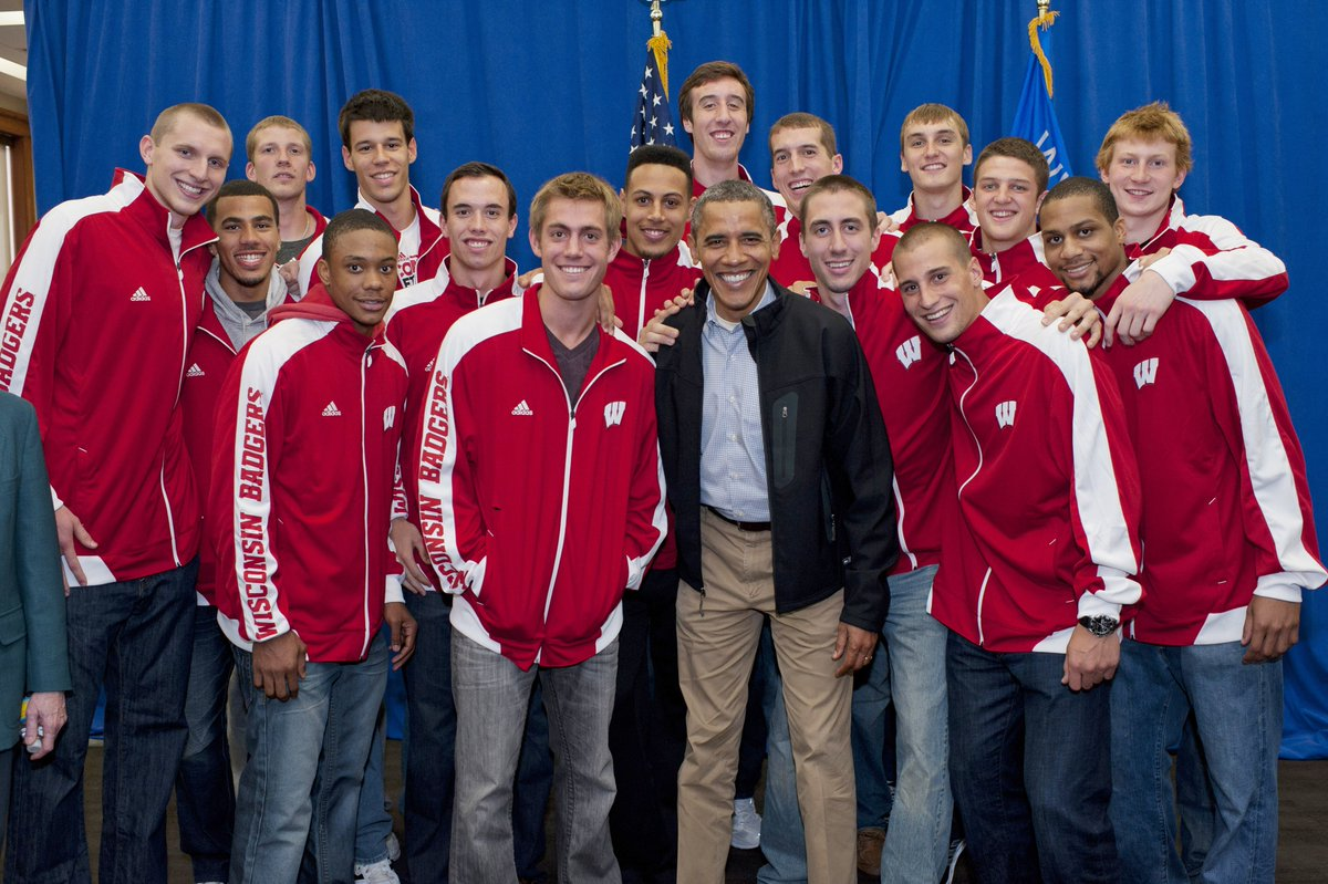 RT @BadgerMBB: #TBT that time when the #Badgers met @POTUS back in 2012.  #ObamaFarewell https://t.co/YEnmlQmRas