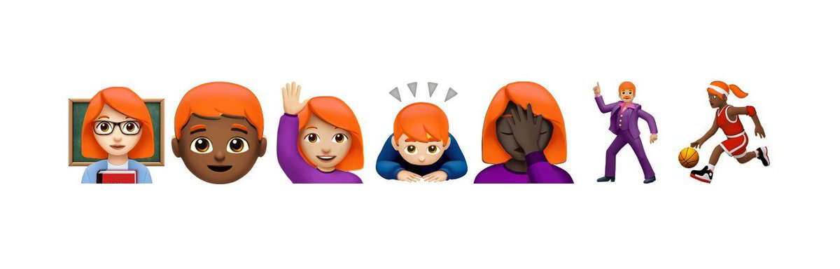 Unicode Committee will meet next week to discuss adding redhead emoji