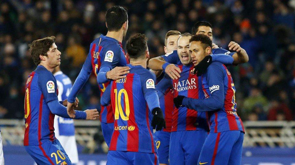 📝 La crónica del Real Sociedad – FC Barcelona 'Premio doble en Anoeta (0-1)' #CopaFCB