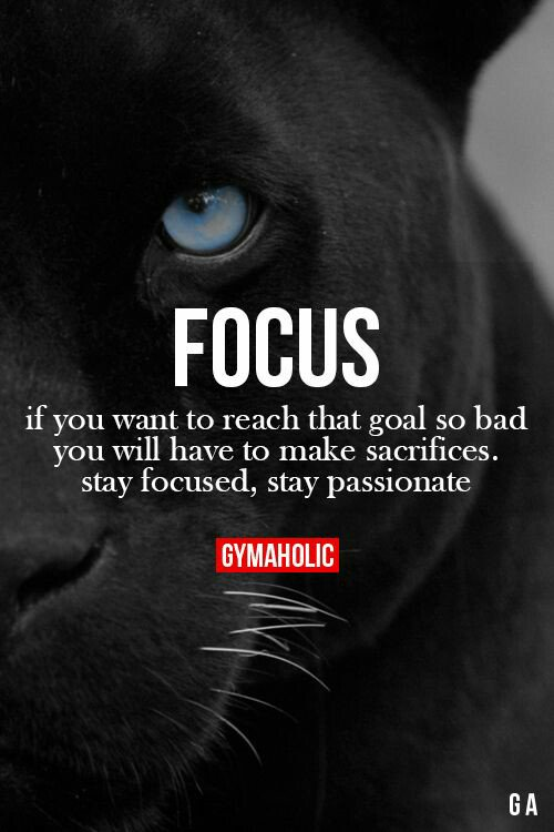 If you want to reach the goal, stay focused, stay passionate. #inspiRUNation https://t.co/op3JBFDx7k