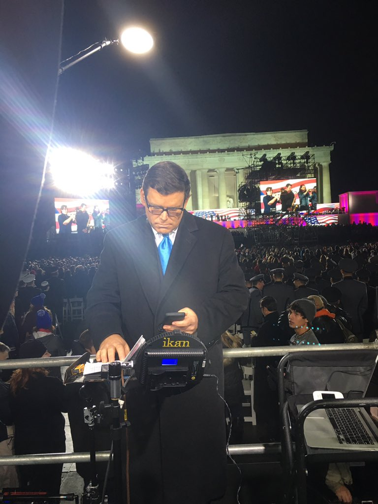 Live from the Inaugural Welcome Concert tonight for #SpecialReport