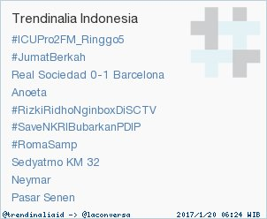 RT @trendinaliaID: Trend Alert: #RizkiRidhoNginboxDiSCTV. More trends at https://t.co/OMCuQPRWwL #trndnl https://t.co/B38T6lQVUW