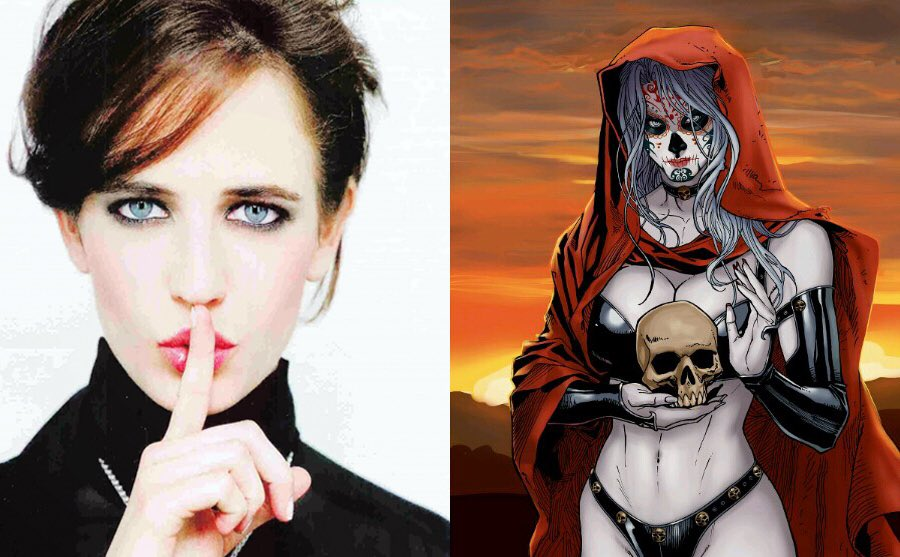 ✨エヴァ・グリーン、MCUに参戦❓✨『アベンジャーズ/インフィニティ・ウォー』にて、ハリウッドきっての悪女女優がレディ・