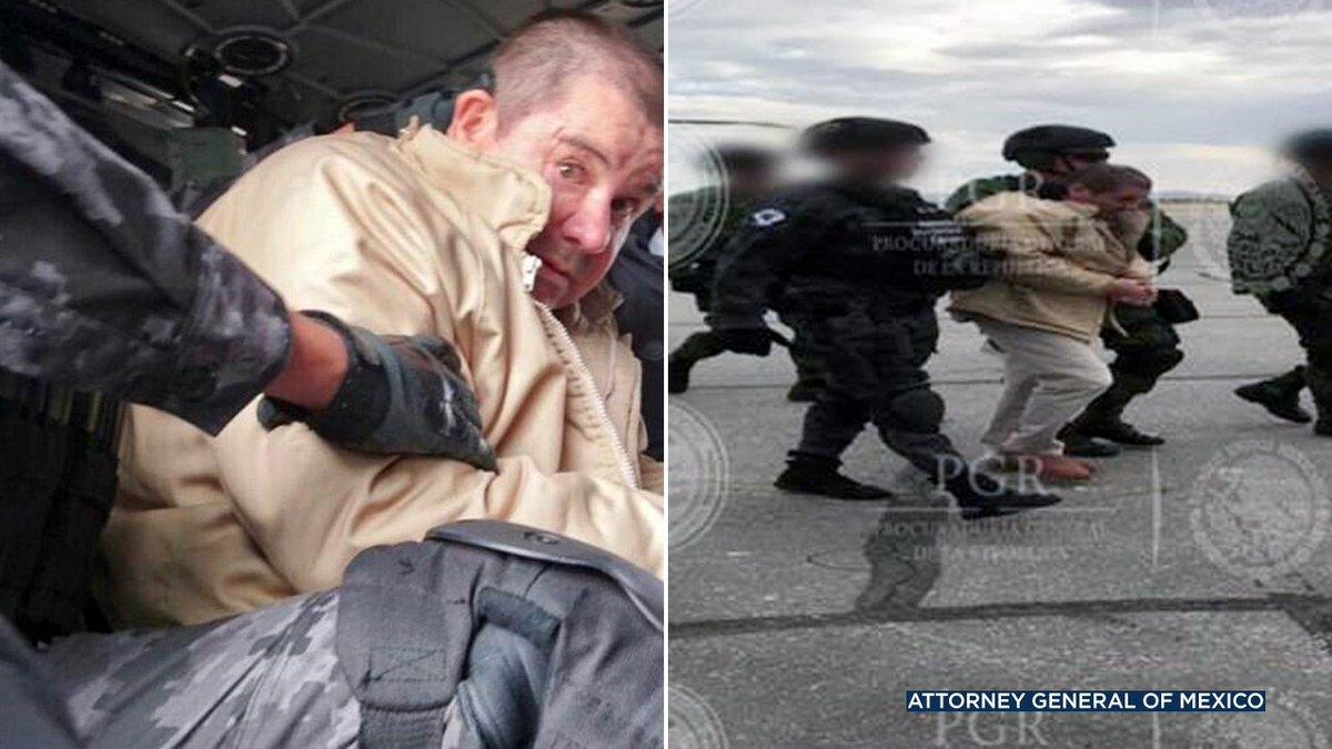 """Drug lord Joaquin """"El Chapo"""" Guzman faces the possibility of life in a US prison"""