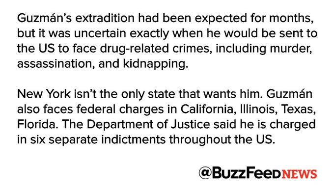 Mexican drug lord 'El Chapo' is in US custody https://t.co/xqvmPGn4v5