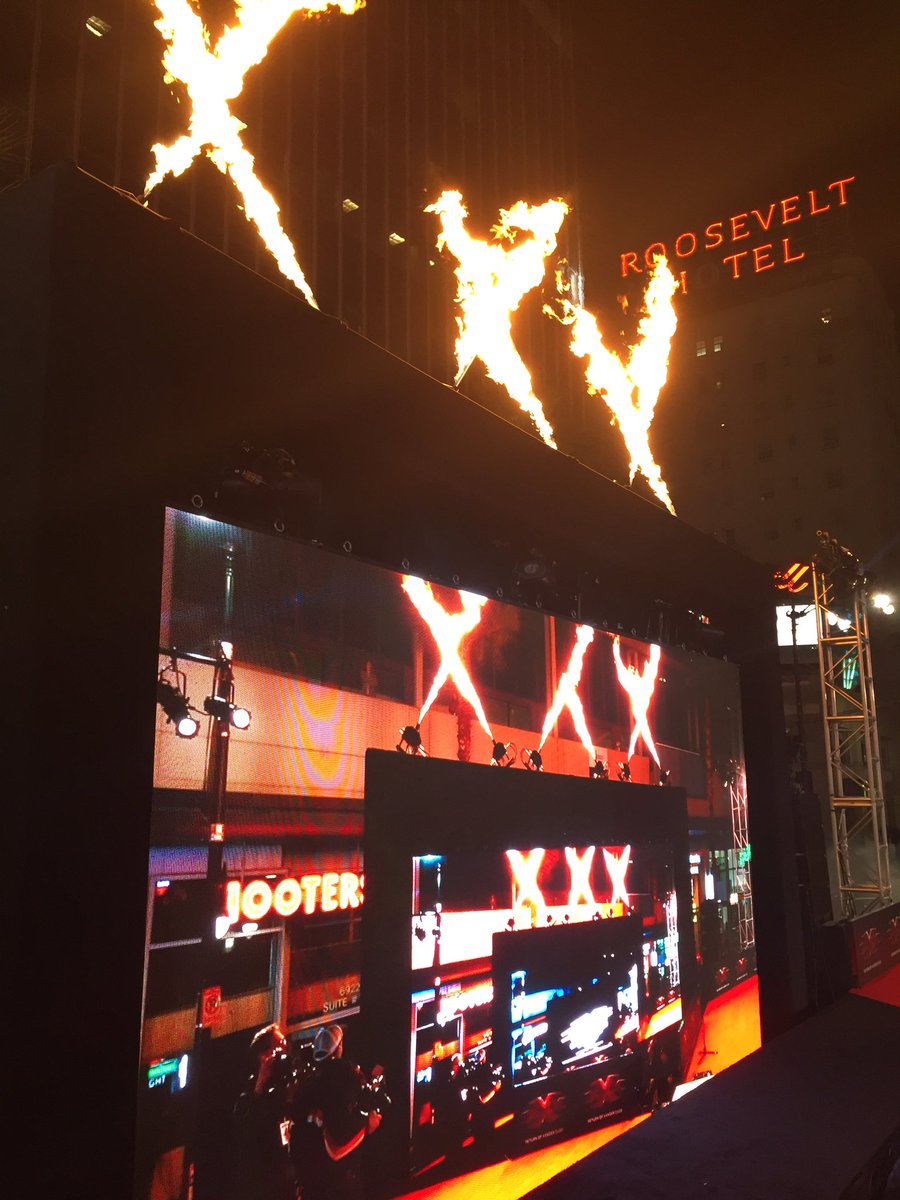 We're LIVE from the #xXxTheMovie red carpet premiere in 30 minutes! Join us and see 🔥>>