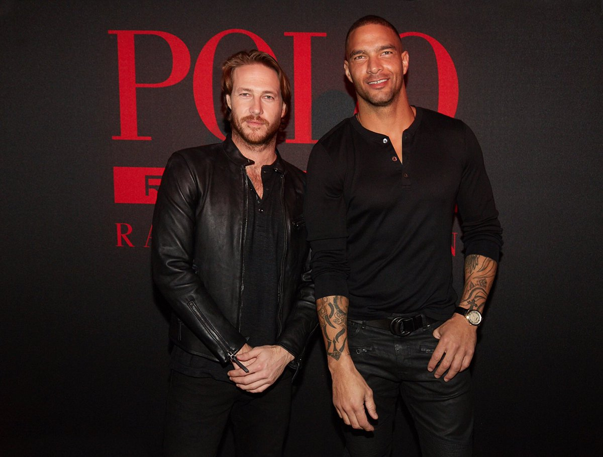 .@LukeBracey and @KennethGuidroz, stars of the new #PoloRedExtreme fragrance campaign, celebrate in NYC https://t.co/k27BVHqXdt