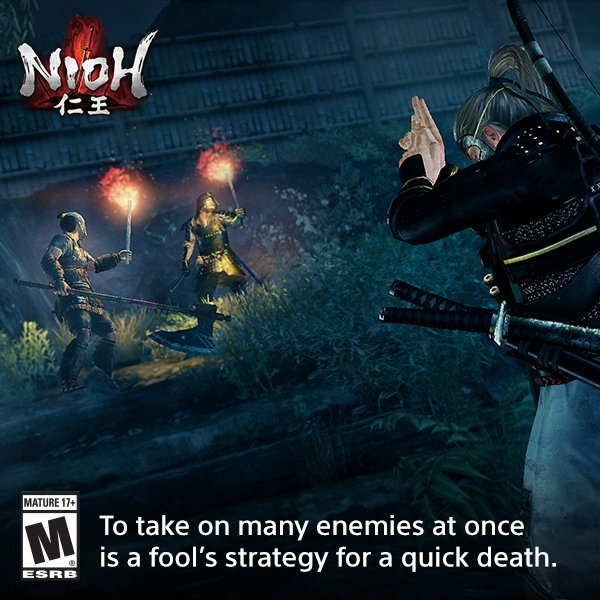 Overzealousness is fatal in #Nioh. Defy death with this tip. Learn more