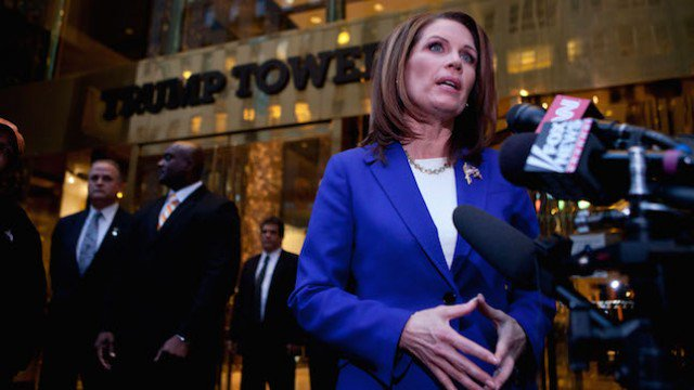 Ex-rep. Michele Bachmann shopped for furs while colleagues attended PETA inaugural ball