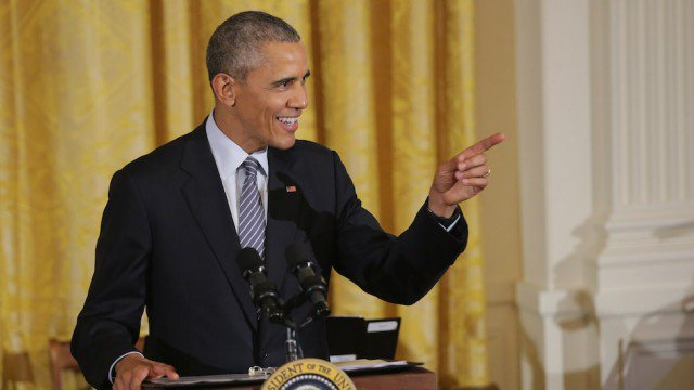 Obama offers a way to keep in touch in farewell letter