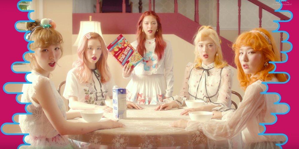 Red Velvet's 'Russian Roulette' MV hits the 50 million views milestone!