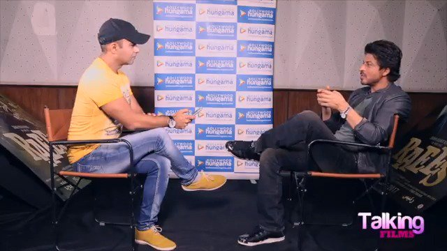 Rapid Fire with @iamsrk A thing in #Raees that sets it apart from every Bollywood crime-drama? #TalkingFilms